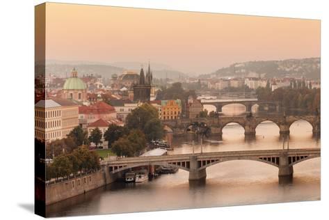 Vltana River-Markus Lange-Stretched Canvas Print