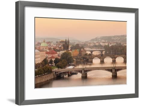 Vltana River-Markus Lange-Framed Art Print