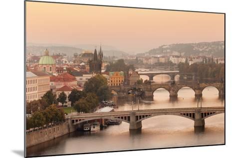 Vltana River-Markus Lange-Mounted Photographic Print