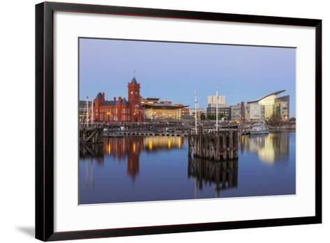 Cardiff Bay, Cardiff, Wales, United Kingdom, Europe-Billy Stock-Framed Art Print