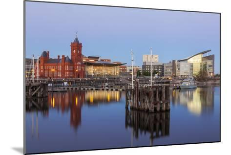 Cardiff Bay, Cardiff, Wales, United Kingdom, Europe-Billy Stock-Mounted Photographic Print