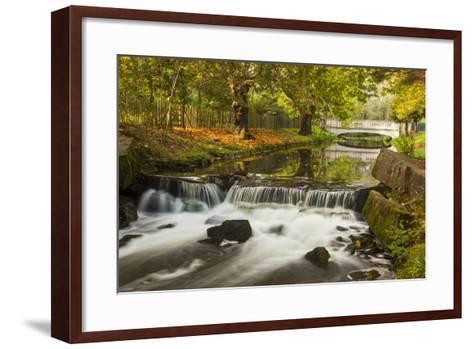 Roath Park, Cardiff, Wales, United Kingdom, Europe-Billy Stock-Framed Art Print