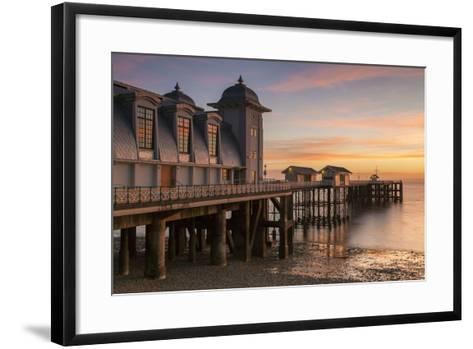 Penarth Pier, Near Cardiff, Vale of Glamorgan, Wales, United Kingdom, Europe-Billy Stock-Framed Art Print