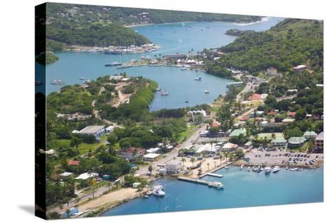 View of Falmouth Harbour-Frank Fell-Stretched Canvas Print