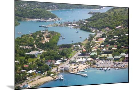 View of Falmouth Harbour-Frank Fell-Mounted Photographic Print