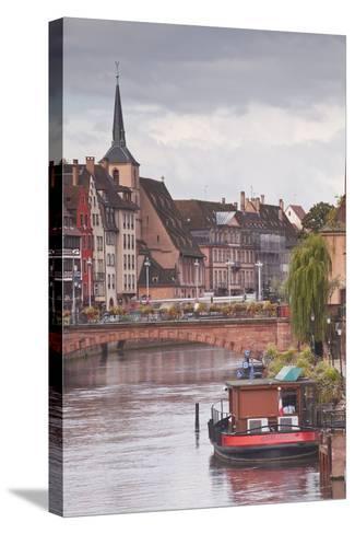 La Petite France-Julian Elliott-Stretched Canvas Print
