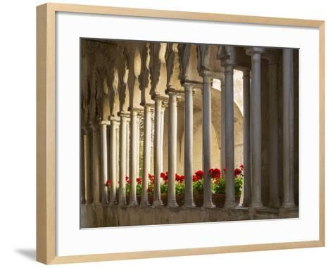 Villa Rufolo-Angelo Cavalli-Framed Art Print