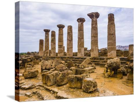 Temple of Hercules (Tempio Di Ercole)-Matthew Williams-Ellis-Stretched Canvas Print