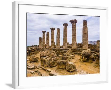 Temple of Hercules (Tempio Di Ercole)-Matthew Williams-Ellis-Framed Art Print