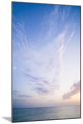 Sunset in Sicily-Matthew Williams-Ellis-Mounted Photographic Print