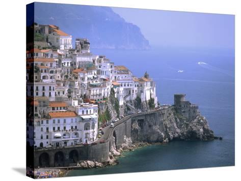 Amalfi Coast, UNESCO World Heritage Site, Campania, Italy, Mediterranean, Europe-Rolf Richardson-Stretched Canvas Print
