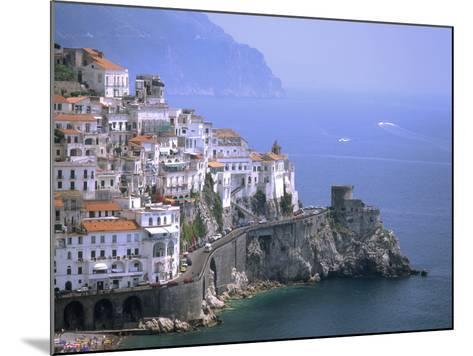 Amalfi Coast, UNESCO World Heritage Site, Campania, Italy, Mediterranean, Europe-Rolf Richardson-Mounted Photographic Print