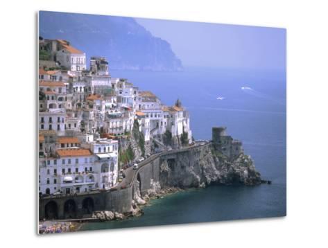 Amalfi Coast, UNESCO World Heritage Site, Campania, Italy, Mediterranean, Europe-Rolf Richardson-Metal Print