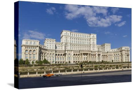 Palace of Parliament-Rolf Richardson-Stretched Canvas Print
