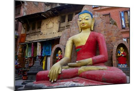 Buddha Statue-Simon Montgomery-Mounted Photographic Print