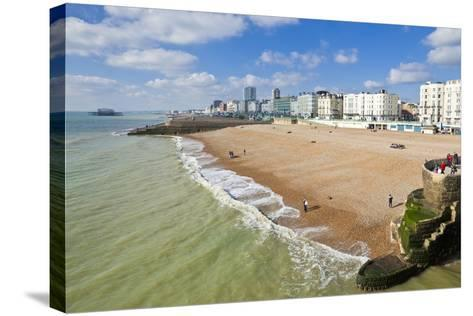 The Seafront-Neale Clark-Stretched Canvas Print