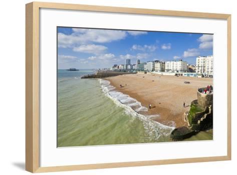 The Seafront-Neale Clark-Framed Art Print