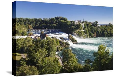 Rhine Falls (Rheinfall) Waterfalls-Markus Lange-Stretched Canvas Print