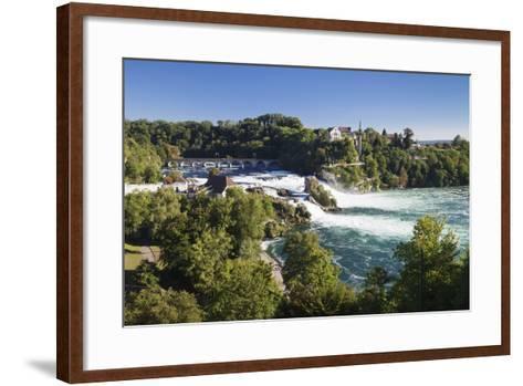 Rhine Falls (Rheinfall) Waterfalls-Markus Lange-Framed Art Print