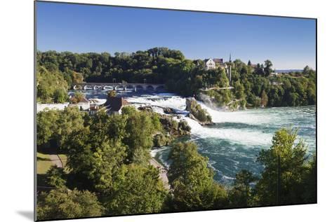 Rhine Falls (Rheinfall) Waterfalls-Markus Lange-Mounted Photographic Print