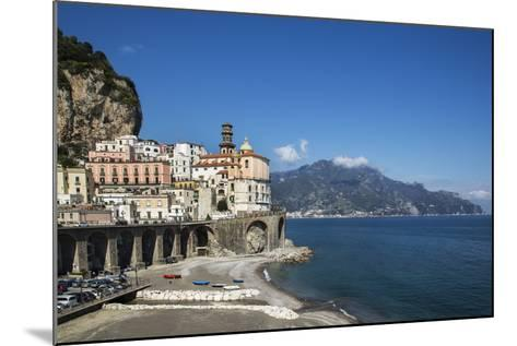 Atrani, Amalfi Peninsula, Amalfi Coast, UNESCO World Heritage Site, Campania-Angelo Cavalli-Mounted Photographic Print