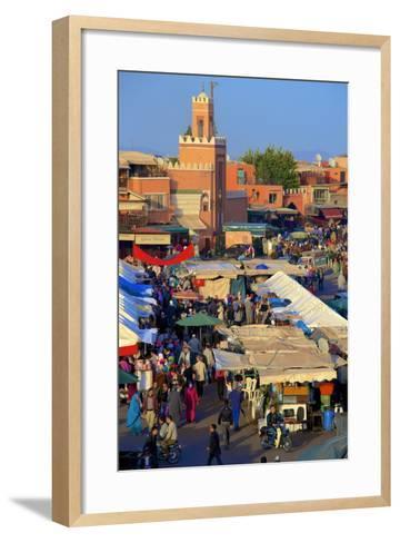 Restaurants-Guy Thouvenin-Framed Art Print