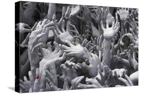 Detail of Hands-Stuart Black-Stretched Canvas Print