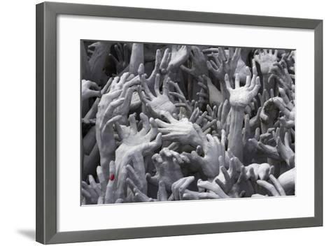 Detail of Hands-Stuart Black-Framed Art Print