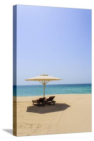 Jumeirah Beach, Dubai, United Arab Emirates, Middle East-Amanda Hall-Stretched Canvas Print