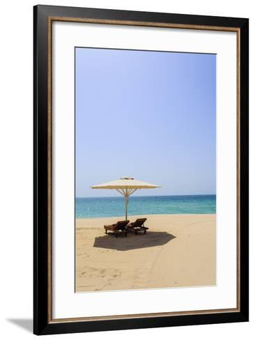 Jumeirah Beach, Dubai, United Arab Emirates, Middle East-Amanda Hall-Framed Art Print