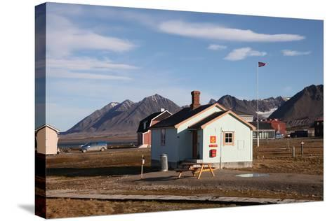 Most Northerly Post Office in the World, Ny Alesund, Svalbard, Norway, Scandinavia, Europe-David Lomax-Stretched Canvas Print