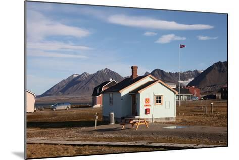 Most Northerly Post Office in the World, Ny Alesund, Svalbard, Norway, Scandinavia, Europe-David Lomax-Mounted Photographic Print