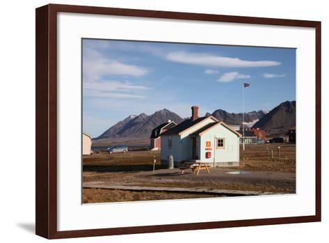Most Northerly Post Office in the World, Ny Alesund, Svalbard, Norway, Scandinavia, Europe-David Lomax-Framed Art Print