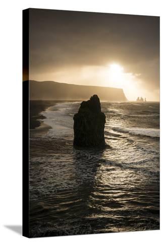 Dyrholaey, Iceland, Polar Regions-Ben Pipe-Stretched Canvas Print