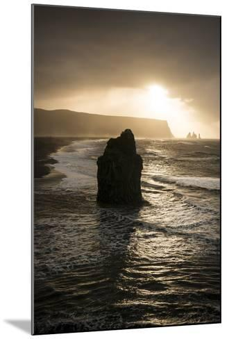 Dyrholaey, Iceland, Polar Regions-Ben Pipe-Mounted Photographic Print