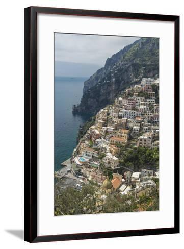 Positano, Amalfi Peninsula, UNESCO World Heritage Site, Campania, Italy, Mediterranean, Europe-Angelo Cavalli-Framed Art Print
