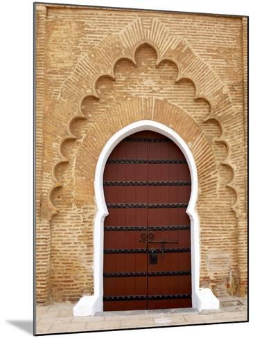 Traditional Doorway to Koutoubia Mosque-Simon Montgomery-Mounted Photographic Print