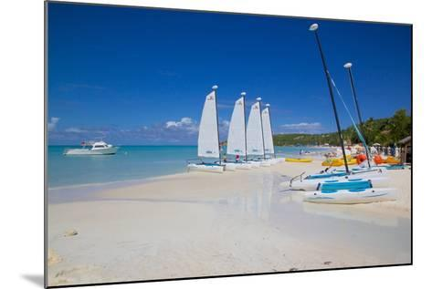 Beach, Dickenson Bay, St. Georges, Antigua, Leeward Islands-Frank Fell-Mounted Photographic Print