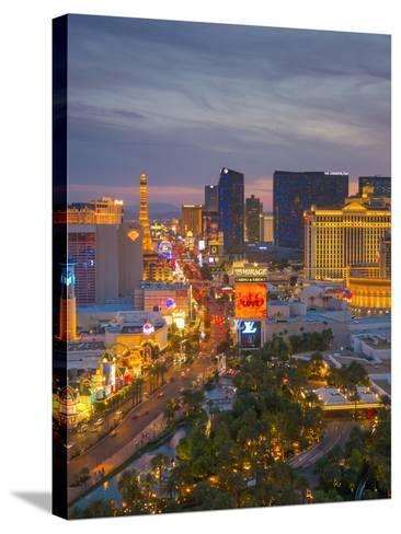 The Strip, Las Vegas, Nevada, United States of America, North America-Alan Copson-Stretched Canvas Print