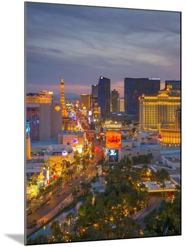 The Strip, Las Vegas, Nevada, United States of America, North America-Alan Copson-Mounted Photographic Print
