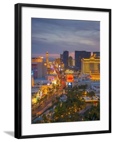 The Strip, Las Vegas, Nevada, United States of America, North America-Alan Copson-Framed Art Print