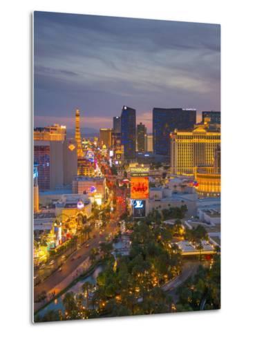 The Strip, Las Vegas, Nevada, United States of America, North America-Alan Copson-Metal Print