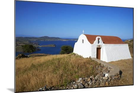 Small Church, Patmos, Dodecanese, Greek Islands, Greece, Europe--Mounted Photographic Print