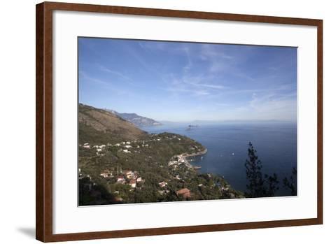 View of the Entire Amalfi Coast-Oliviero Olivieri-Framed Art Print