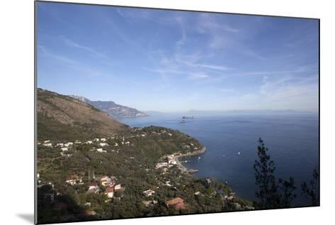 View of the Entire Amalfi Coast-Oliviero Olivieri-Mounted Photographic Print