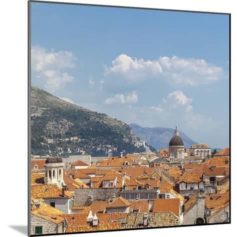 Rooftops of the Old Town, UNESCO World Heritage Site, Dubrovnik, Dalmatia, Croatia, Europe-Charlie Harding-Mounted Photographic Print