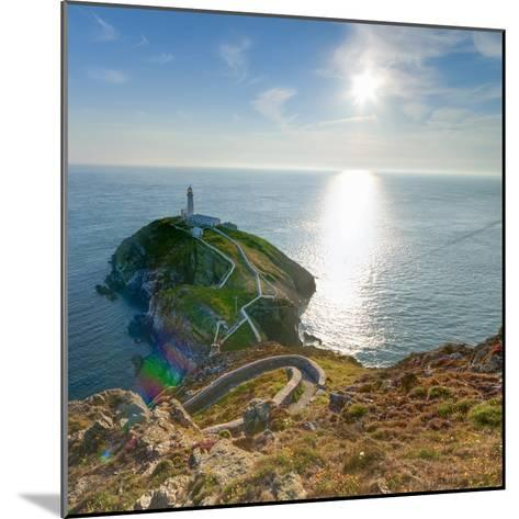 South Stack Lighthouse, Holy Island, Anglesey, Gwynedd, Wales, United Kingdom, Europe-Alan Copson-Mounted Photographic Print