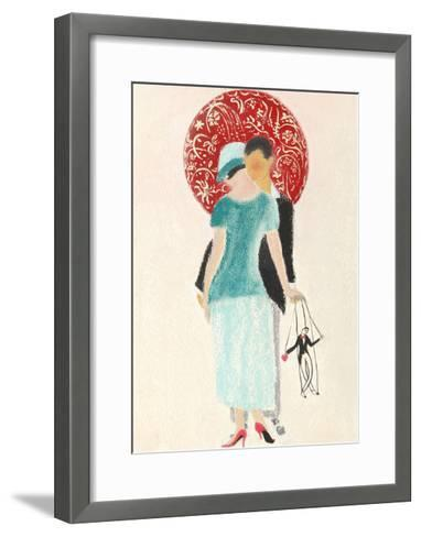 Littleman Series II-Susan Adams-Framed Art Print