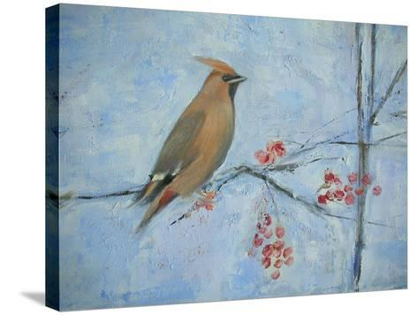 Waxwing (Detail), 2013-Ruth Addinall-Stretched Canvas Print