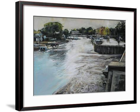 Eel Pie Island-John Erskine-Framed Art Print